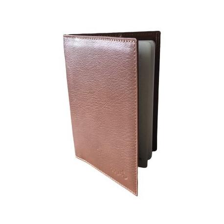 Protège-passeport Marron Clair