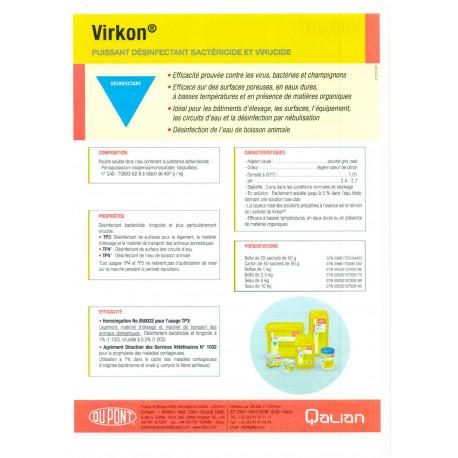 Désinfectant Virkon S - 200g