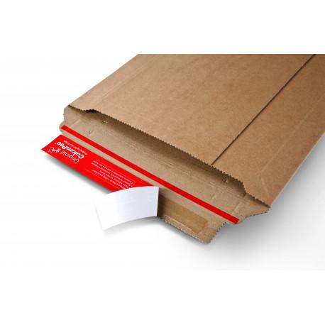 Pochette d'expedition robuste en carton ondulé215x300x -50
