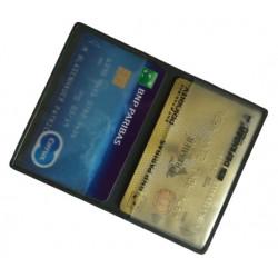 Protège-CB PVC 2 cartes