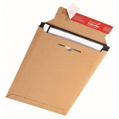 Pochette d'expédition marron en carton rigide245x345x -30