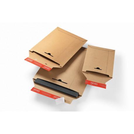 Pochette d'expédition marron en carton rigide285x370x -30