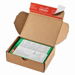 Le système modulaire, boite format 1 à 4 pour expedtion de petites pièces, carton brun140x101x43