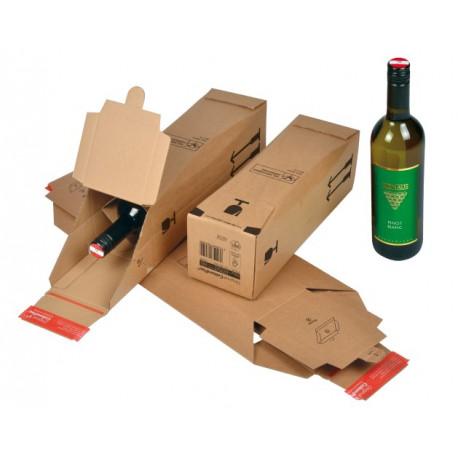 Carton pour bouteilles certifié DHL305x74x74