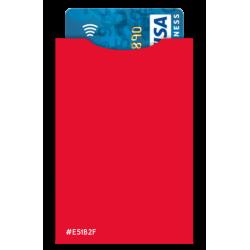 Protège cartes Barrière RFID 6 cartes & poches billets Cuir Marron Foncé
