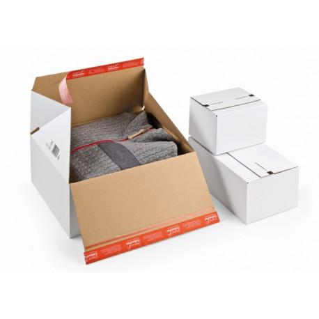 Carton à fond automatique PREMIUM, et double fermeture autocollante389x324x320