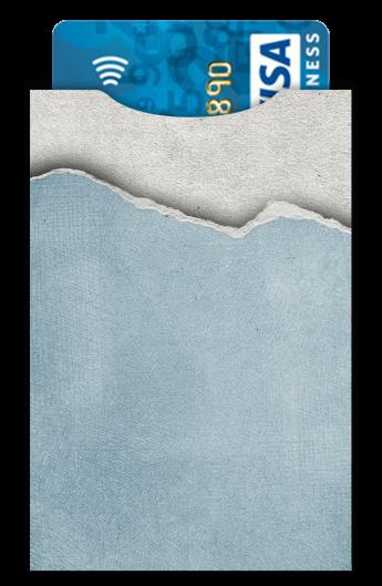 super mignon 100% de satisfaction style attrayant Porte carte bleue sans contact 1 carte en simili cuir gris