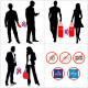 Filtre de confidentialité Anti chocs pour iPhone 7+/8+