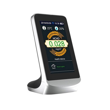 Détecteur de qualité de l'air multifonctionnel avec connexion wifi
