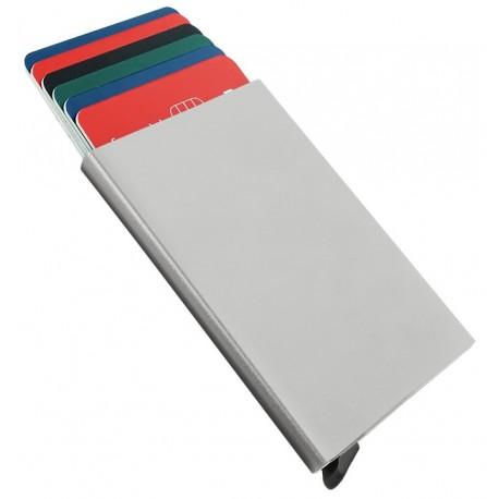 Porte cartes Barrière RFID Aluminium couleur