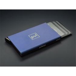 Portefeuille Barrière RFID 6 cartes Cuir Noir