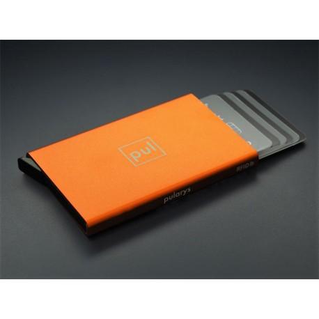 Portefeuille Barrière RFID 8 cartes Cuir Noir