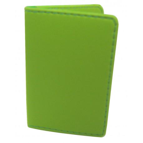 Protège-CB Simili cuir 2 cartes Vert