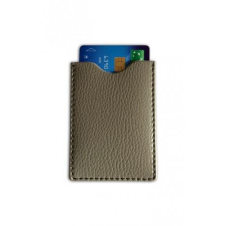 Présentoir de 16 Protège CB Barrière RFID en simili cuir 1 carte