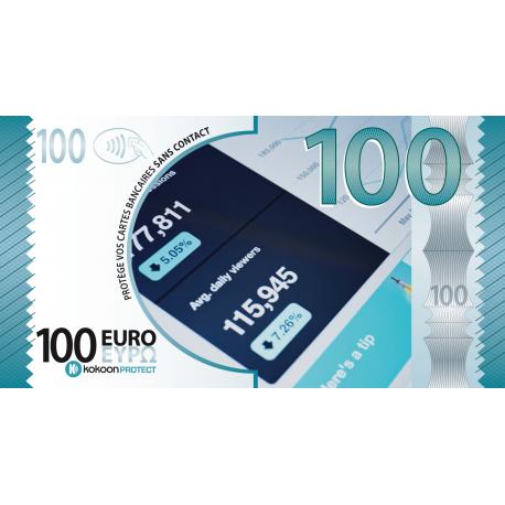 Billet Barrière RFID Kokoon Banknote Visuel City