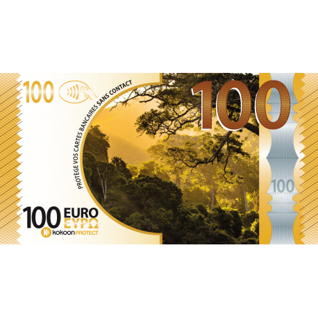 Billet Barrière RFID Kokoon Banknote Visuel Automne