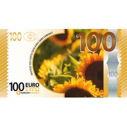 Billet Barrière RFID Kokoon Banknote Visuel Tournesol