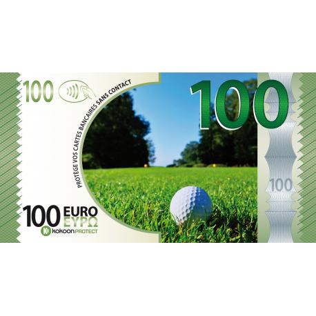 Billet Barrière RFID Kokoon Banknote Visuel Golf