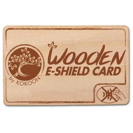 Carte Barrière RFID WOOD E-SHIELD