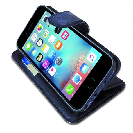 Etui smartphone avec poches CB Barrière RFID pour iPhone 5C