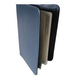 Protège-passeport  Bleu Marine