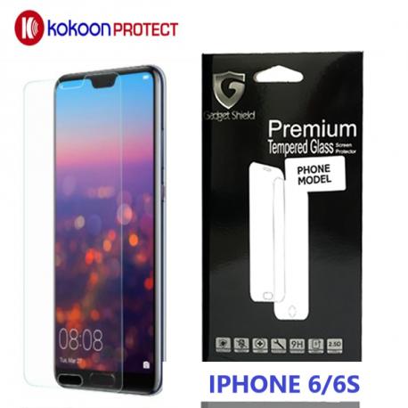 Protège écran en verre trempé pour iPhone 6/6S