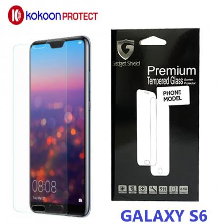 Protège écran en verre trempé pour GALAXY S6