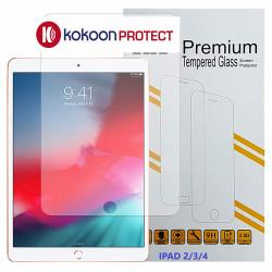 Protège écran en verre trempé pour iPad 2/3/4