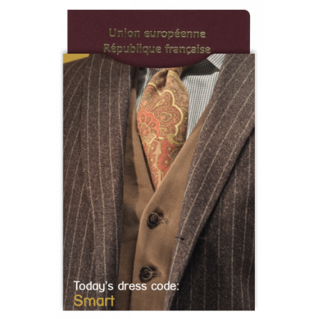 Protège-passeport  - Dress code