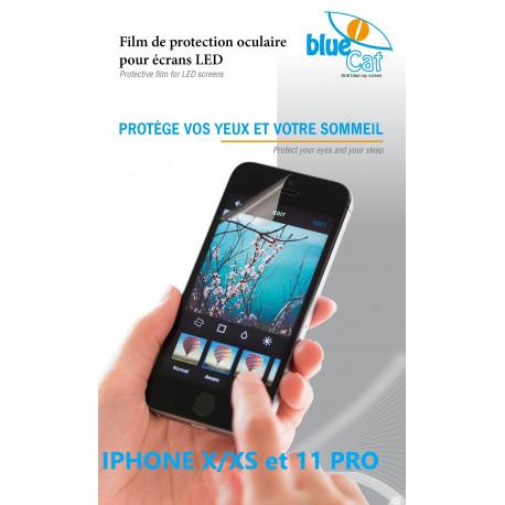 Filtre anti lumière bleue pour iPhone 11 Pro & X/XS