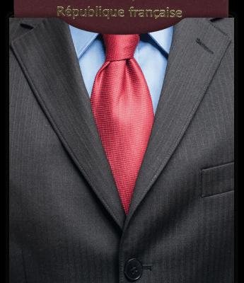Protège passeport biométrique Dress Code Business Kokoon™