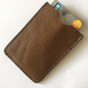 Etui CB Barrière RFID 1 carte marron